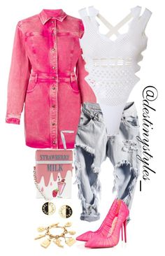 """""""Untitled #238"""" by iamdestinnny on Polyvore featuring Roberto Cavalli, Kenzo, Christian Louboutin, Accessorize and Chanel"""