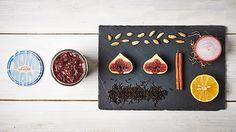 Chutney de figues au thé parfumé et aux épices