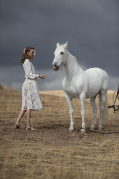 Horse+Fashion+White!