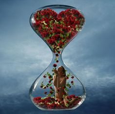 This would be cool with someone breaking out of the hourglass with a clock in the background Best Love Songs, Illusion Art, Photoshop Photos, Photo Retouching, Time Art, Photo Manipulation, Belle Photo, Art Pictures, Lady In Red