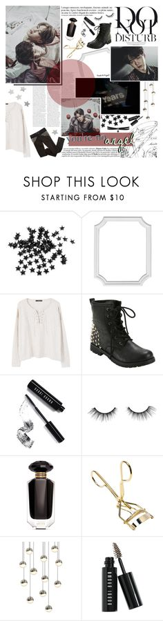 """""""you lied, but maybe I wanted you to"""" by taeangel ❤ liked on Polyvore featuring Anja, INC International Concepts, MANGO, Hot Topic, Bobbi Brown Cosmetics, tarte, Victoria's Secret, Sonneman and Fallon"""