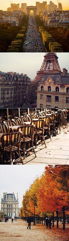 L'automne à Paris.
