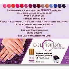 Have the perfect manicure in minutes. All from the comfort of your home.  For more information please message Red Deer Spring Show.