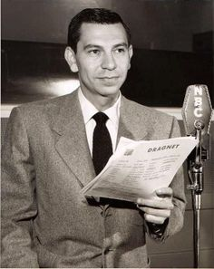The radio & 50s TV Show Dragnet.