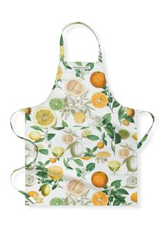 Botanical Citrus Apron