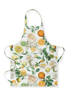 Botanical Citrus Apron