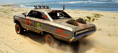 Rene Aguirre has raced this jacked-up 1964 Ford Galaxie in NORRA's vintage off-road races down the Baja peninsula, but it looks almost as amazing sitting still as it does jumping dunes. Actually nah, let's watch it throw dirt in slow-motion.