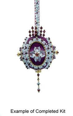 Beaded Victorian Ornaments | Found on allmostlyflowers.com