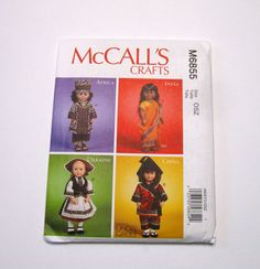 McCall's M6855 Sewing Pattern  International by NormasTreasures