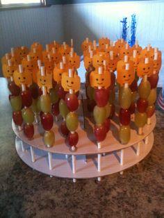Lego fruit kabobs :)