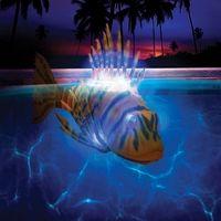 light up lion fish pool swimmer
