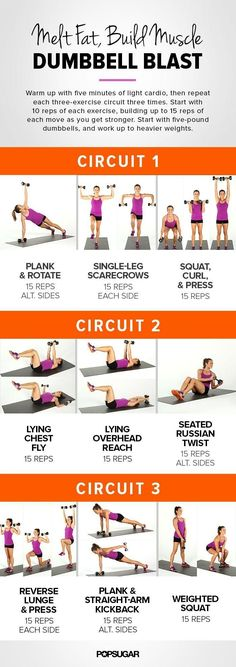 Dumbbell Blast Workout