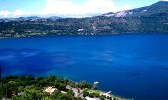 Lago di Albano, Castelgandolfo, Italy