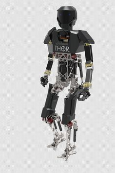 DARPA Robotics Challenge Opens The Door To Innovation | Future Robots | THOR (Tactical Hazardous Operations Robot)
