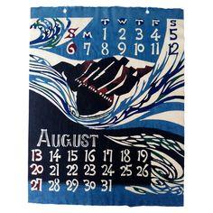 Vintage '60s Japanese Calendar