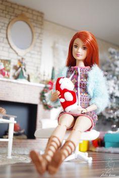 Barbie Style, Ag Dolls, Blythe Dolls, Poupées Barbie Collector, Barbie Fashionista Dolls, Light Blue Top, Western Chic, Dress Up Dolls, Barbie World