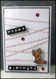 Carte Scrap #666 - Pretty Kitty - Stampin'up! - SU!