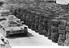 Panzerkampfwagen III Ausf. L at a factory with tank tracks to side. #worldwar2…