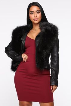 My Diva Identity Mini Dress - Mint Black Faux Leather Jacket, Vegan Leather Jacket, Faux Leather Jackets, Fashion Nova Models, Cut And Style, Cute Tops, High Maintenance, Womens Fashion, How To Wear