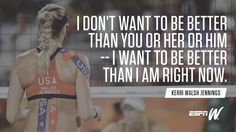 """espnW on Twitter 20160815: """"Kerri Walsh Jennings kicked off her 38th birthday with a win. Would you expect anything else?"""" #MondayMotivation"""