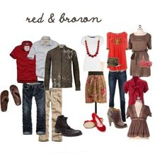 Ideas for clothing to wear for family photography session in the theme ' Winter Warm' and incorporating the colours Red, Navy & Grey. Description from pinterest.com. I searched for this on bing.com/images