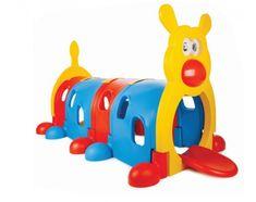 Spațiu de joacă în formă de omidă, confecționat dintr-un plastic de foarte bună calitateasigura copilului un mod plăcut de a își petrece ziua.  Dimensiuni: 211cm L x 105cm l x 103cm h  Produsele se pot comanda direct pe site, la telefon 0734 000 112 sau prin e-mail la comenzi@dmkids.ro . Rubber Duck, Toys, Children, Activity Toys, Young Children, Boys, Clearance Toys, Kids, Gaming