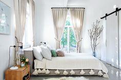 Bedroom, Furniture, Bed, Room, Interior design, Canopy bed, Curtain, Bed frame, Property, Bedding, Grey Bedroom Colors, Grey Bedroom Design, Gray Bedroom, Bedroom Wall, Master Bedroom, Bedroom Decor, Bed Room, Bedroom Furniture, Bedroom Ideas