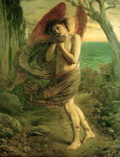 Simeon Solomon....Love in Autumn, 1866