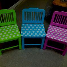 Children's chair refinish