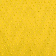 Sunflower Yellow Faux Dotted Swiss Polyester Chiffon