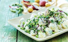 Kartoffelsalat med peberrodsskyr