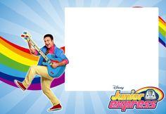Junior Express, Disney Junior, Disney Jr, Toy Story, Ideas Para, Barbie, Party, Monaco, Printable Birthday Cards