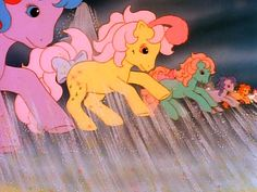 The good old days of My Little Pony ... the Flutter Ponies to the rescue!!!
