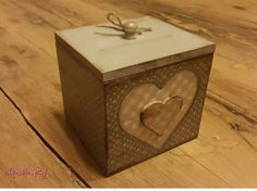 Small decorative storage box
