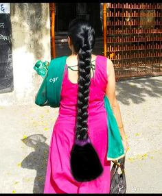 Relax it is still very long and silky hair.after cleaning up the bottom.she WAs suprise and amaze at that. She said beautiful cut. Long Silky Hair, Long Black Hair, Super Long Hair, Long Hair Play, Grow Long Hair, Long Ponytail Hairstyles, Long Indian Hair, Playing With Hair, Cut My Hair