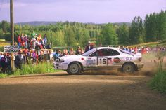 Marcus Gronholm - Voitto Silander 43rd 1000 Lakes Rally 1993 (Toyota Celica Turbo 4WD ST185)