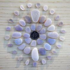 Genuine Beach Sea Glass - Shades of Lavender / Amethyst / Purple