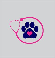 Veterinarian or Vet Tech Stethoscope Vinyl Decal by ChicksDigVinyl, $5.00 I'm not a vet but love this.