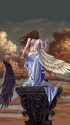 Motley Crue Albums, Greek Mythological Creatures, Metallica Art, 1970s Art, Heavy Metal Art, Ride The Lightning, Art Inspiration Drawing, Angel Pictures, Rock Posters