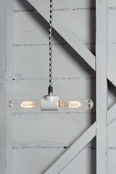 Color Cord Pendant Light  Double Pendant Lamp by IndLights on Etsy, $65.00