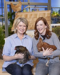 "More and more people in the United States are raising chickens for their eggs, and Martha, who has been keeping chickens of her own for more than 30 years, couldn't be happier. In the first part of the twentieth century, just about everyone -- particularly women -- kept chickens to both eat their eggs and earn money by selling them. Now, their popularity is soaring, as recounted in the New Yorker article ""The It Bird,"" by author and chicken owner Susan Orlean.Martha's chickens, which…"