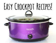 Easy Crock Pot Recipes from TheFrugalGirls.com