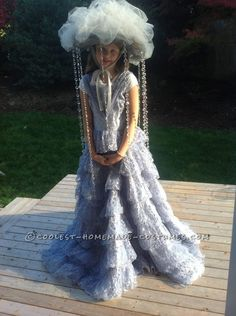 The Most Fabulous Rain Cloud Costume for a Girl - 2