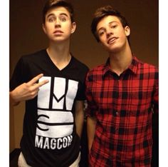 nash grier & cameron dallas ♡
