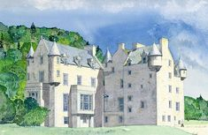 Menzies Castle - a major candidate