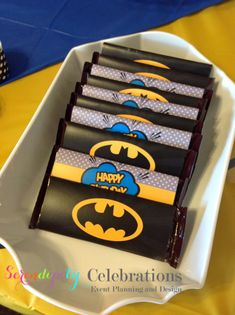 Instant Download Superhero Collection: Printable Candy Bar Wrappers -Digital…