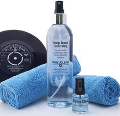 Vinyl LP Record Cleaner Kit - by Vinyl Clear. Birthday Gifts For Husband, Gifts For Father, Vinyl Lp, Vinyl Records, Cleaning Kit, Cleaning Supplies, Cleaning Solutions, You Are The Father, Vodka Bottle