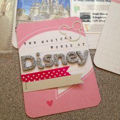 Disney project life card