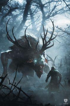 Artwork Fiend - Witcher 3 CD Projekt Red