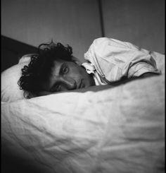 Edouard Boubat (1923-1999) - French photojournalist and art photographer. Self Portrait (1948)
